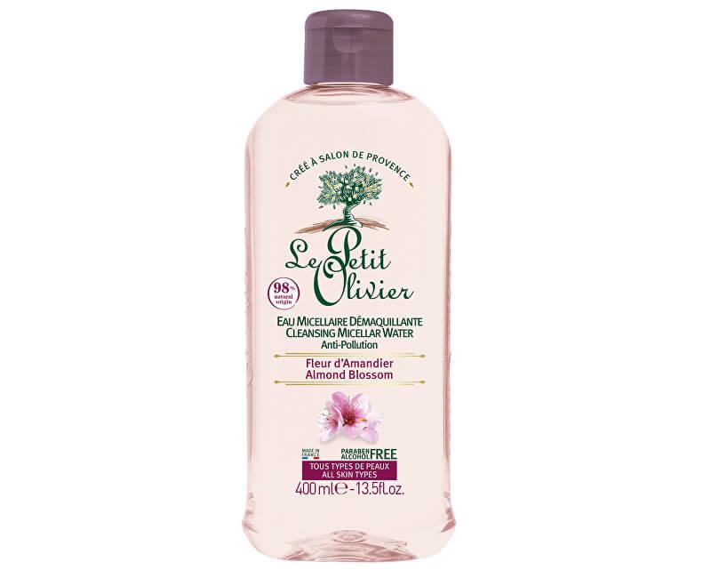 Le Petit Olivier Čisticí micelární voda Mandlový květ (Cleansing Micellar Water) 400 ml