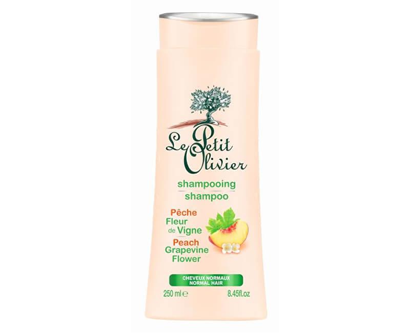 Le Petit Olivier Šampon pro normální vlasy Broskev a hroznové květy 250 ml