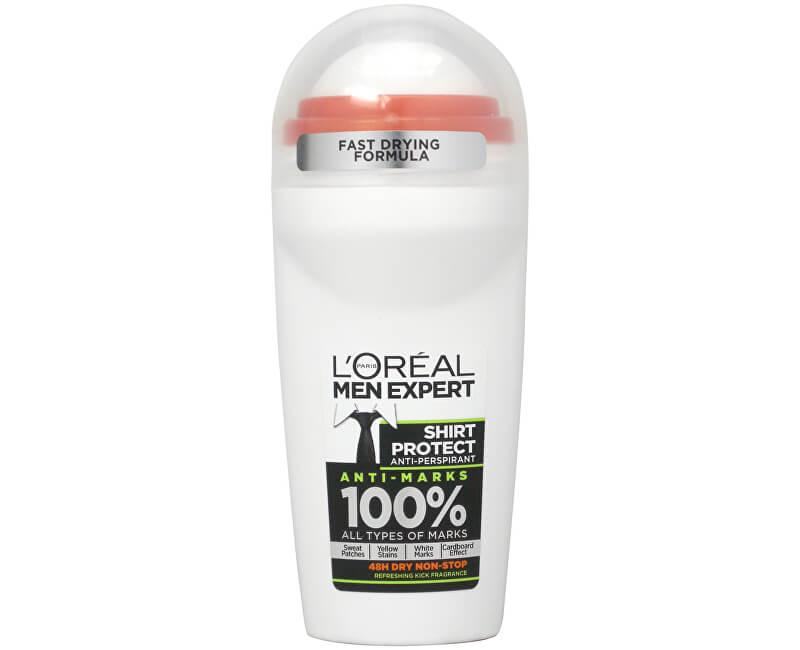 Loreal Paris Kuličkový antiperspirant pro muže Men Expert Shirt Protect 50 ml