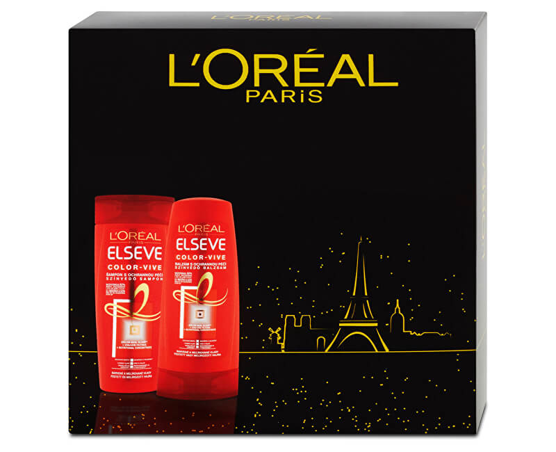 Loreal Paris Dárková sada pro barvené vlasy Color-Vive
