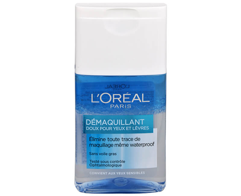L´Oréal Paris Dvoufázový odličovač očí a rtů (Gentle Make-Up Remover for Eyes & Lips) 125 ml