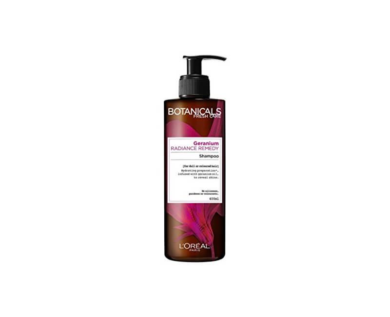 Loreal Paris Hydratační šampon na barvené vlasy Botanicals (Radiance Remedy Shampoo) 400 ml