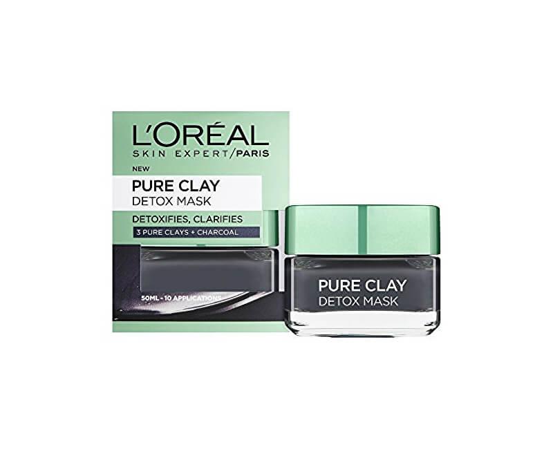 Loreal Paris Intenzivní čisticí rozjasňující maska Pure Clay (Detox Mask)