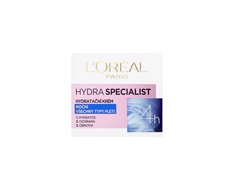 Loreal Paris Noční hydratační krém Hydra Specialist (Night Cream) 50 ml