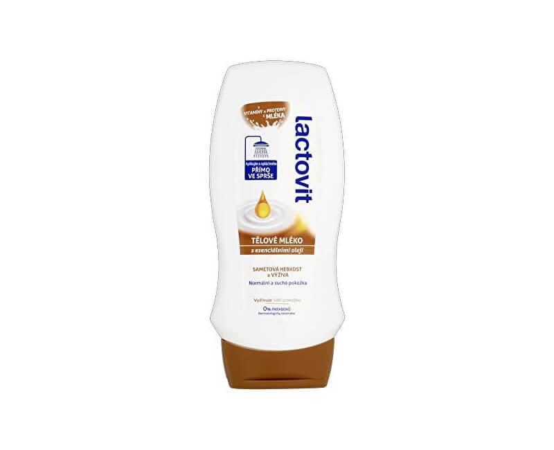 Lactovit Tělové mléko do sprchy s esenciálními oleji (Body Milk In-Shower) 230 ml