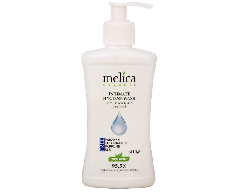 Melica Přípravek na intimní hygienu s kyselinou mléčnou a panthenolem 300 ml