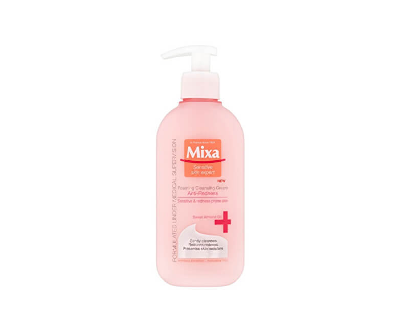 Mixa Jemný čistiaci penivý gél Sensitiv e Skin Expert (Foaming Cleansing Cream) 200 ml