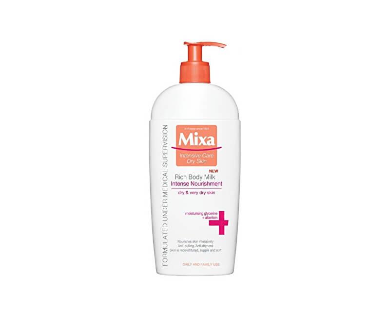 Mixa Intenzívne vyživujúce telové mlieko pre suchú pokožku 400 ml