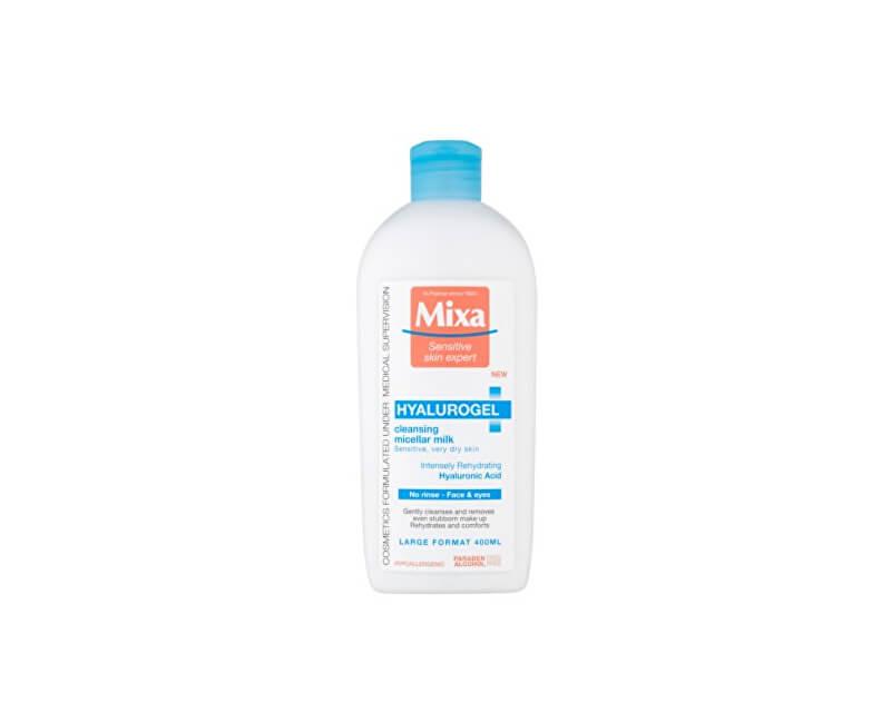 Mixa Micelárna mlieko na citlivú suchú pleť Hyalurogel ( Cleansing Micellar Milk) 400 ml