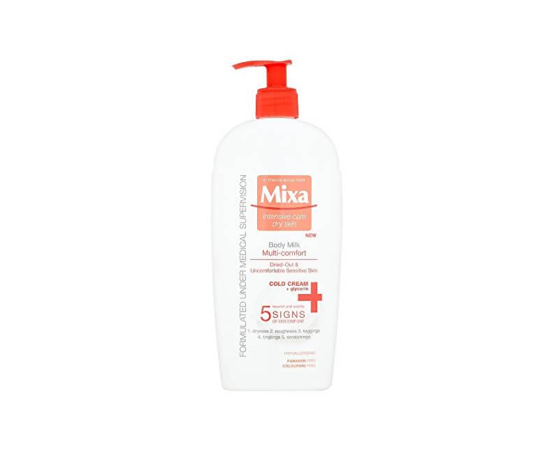 Mixa Multi-komfortní tělové mléko 400 ml