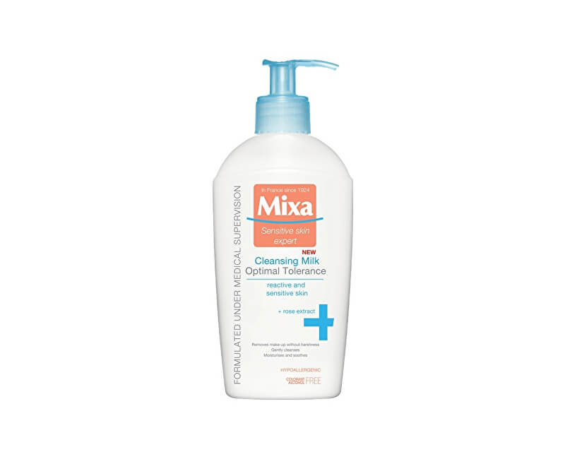 Mixa Odličovacie mlieko pre citlivú pleť 200 ml
