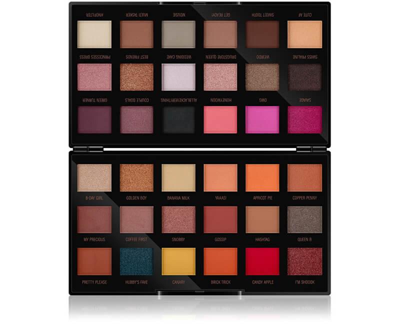 Makeup Revolution Paletka očních stínů by Petra (Eyeshadow Palette) 36 x 0,8 g