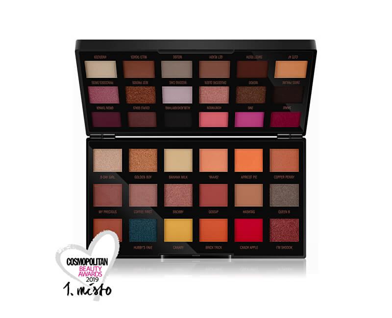 Revolution Paletka očních stínů by Petra (Eyeshadow Palette) 36 x 0,8 g