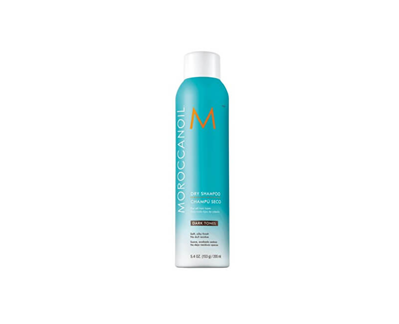 Moroccanoil Suchý šampon pro tmavé vlasy (Dry Shampoo for Dark Tones) 205 ml