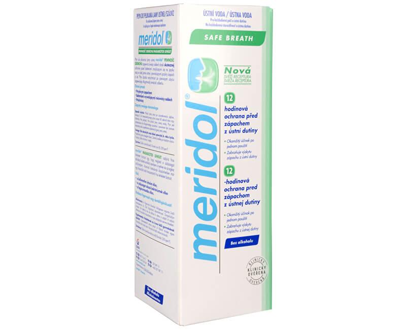 Meridol Ústní voda bez alkoholu pro svěží dech Halitosis 400 ml