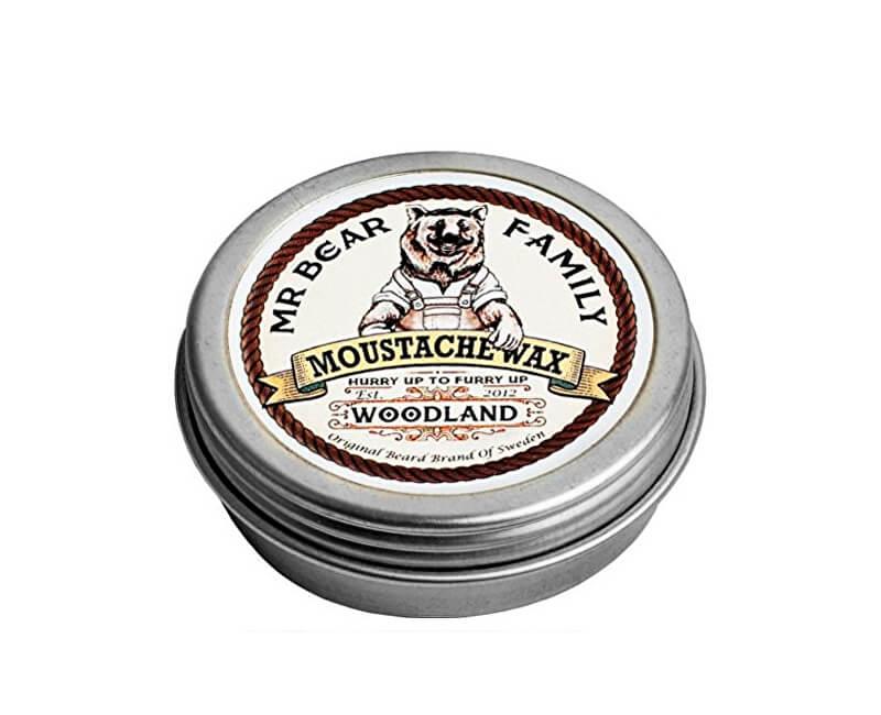 Mr. Bear Vosk na fúzy Woodland (Moustache Wax) 30 g Novinka add9206eef6