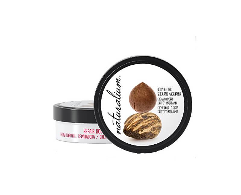 Naturalium Tělové máslo s výtažkem z karité a makadamiovým ořechem (Repair Body Butter Shea & Macadamia) 200 ml
