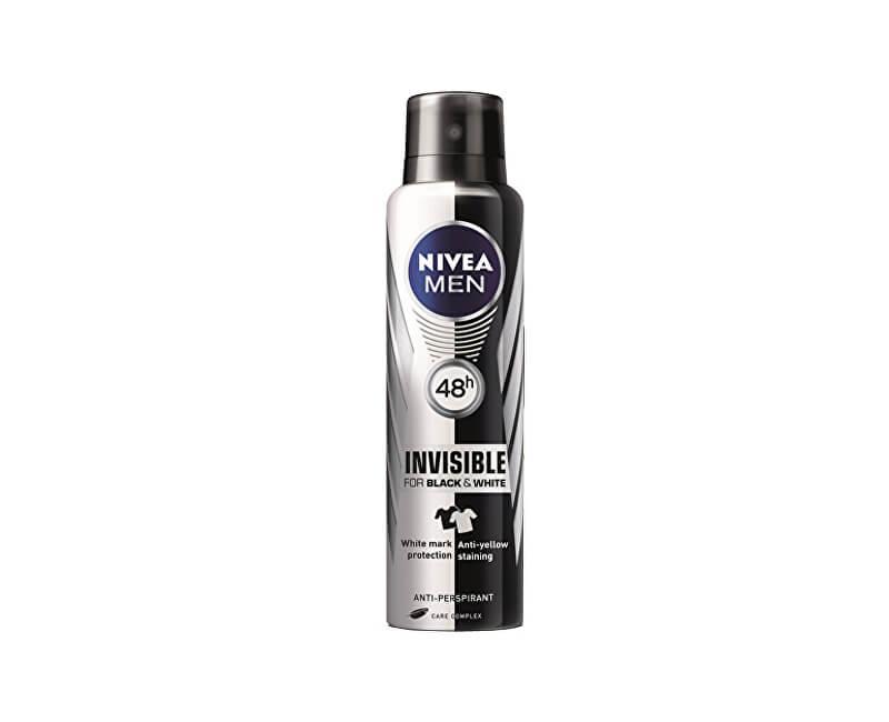 Nivea Antiperspirant ve spreji Invisible For Black & White Fresh Men (Anti-Perspirant For Men) 150 ml