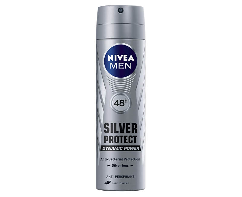 Nivea Antiperspirant ve spreji pro muže Silver Protect Dynamic Power 150 ml