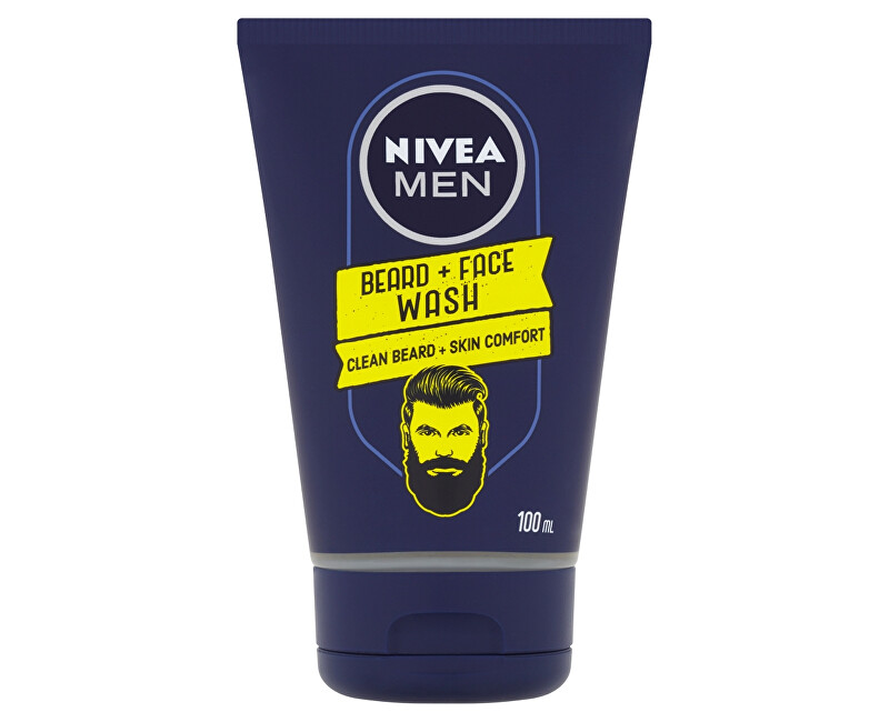 Nivea Čisticí gel na vousy Men (Beard + Face Wash) 100 ml