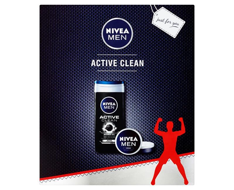 Nivea Kosmetická sada Active Clean
