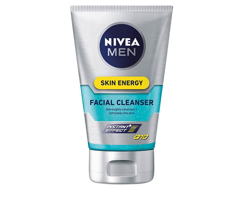 Nivea Umývací gél na tvár pre mužov Skin Energy Q10 100 ml