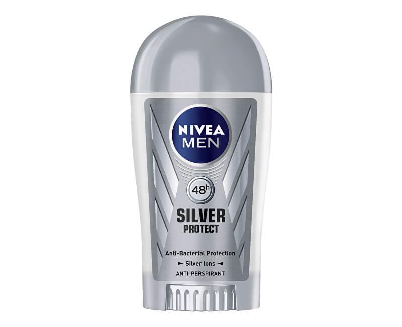Nivea Tuhý antiperspirant pro muže Silver Protect Dynamic Power 40 ml