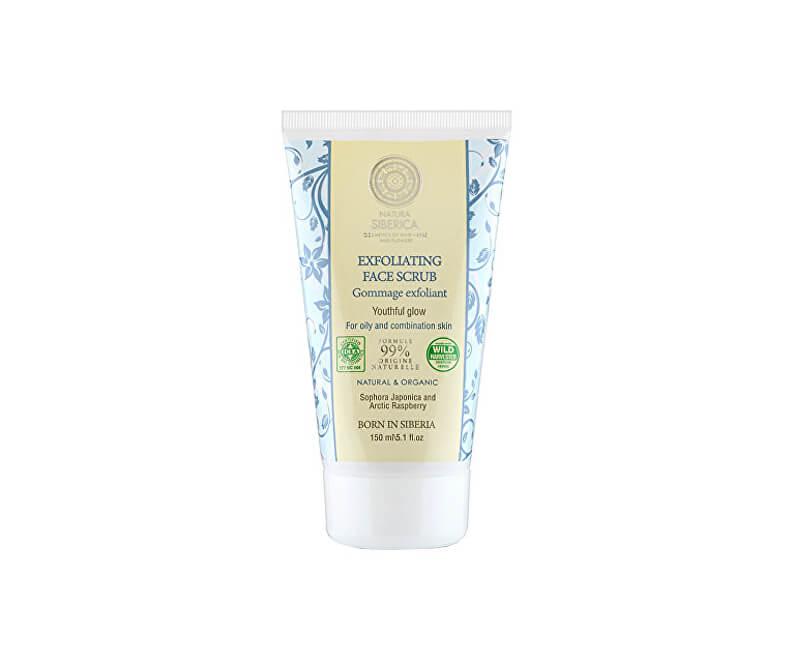 Natura Siberica Peeling na obličej (Exfoliating Face Scrub) 150 ml
