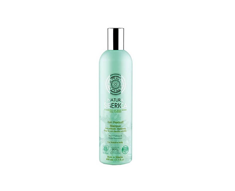Natura Siberica Šampon pro citlivou pokožku hlavy - Proti lupům (Anti Dandruff Shampoo) 400 ml