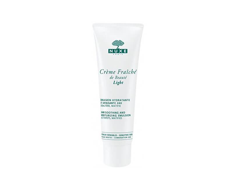 Nuxe 24H upokojujúce a hydratačné emulzie Creme Fraiche® De Beauté Light (24hr Soothing And Moisturizing Emulsion) 50 ml