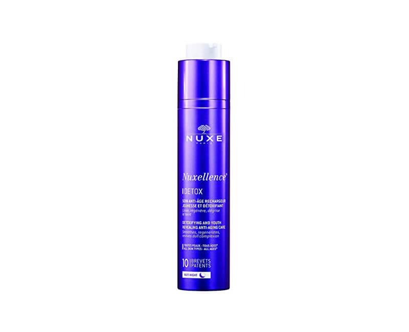 Nuxe Detoxikačné nočná starostlivosť proti vráskam Nuxellence Detox (detoxifying And Youth Revealing Anti-Aging Care) 50 ml