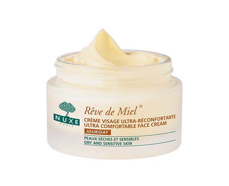 Nuxe Zklidňující denní krém pro suchou a citlivou pleť (Reve de Miel Ultra Comfortable Face Cream) 50 ml