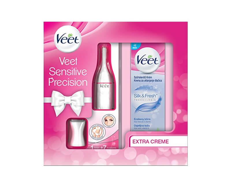 Veet Dárková sada Velvet Sensitive Precision pro citlivou pokožku