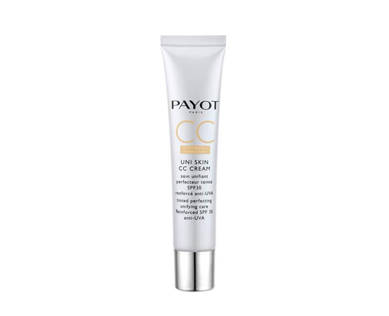 Payot Tonifiere unificator și perfecționarea crema CC Uni Skin (Tinted Perfecting Unifying Care ) 40 ml
