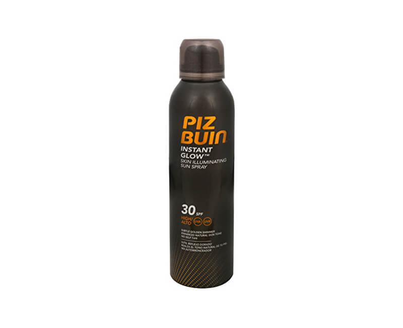 Piz Buin Opalovací sprej pro okamžitě zářivou pleť SPF 30 (Instant Glow Sun Spray) 150 ml