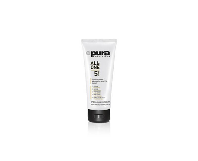 Pura Kosmetica Multifunkční krém na ruce All In One 5v1(Hand Cream) 100 ml