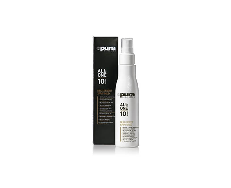 Pura Kosmetica Multifunkční maska na vlasy ve spreji 10v1 (Multi Benefit Spray Mask) 150 ml