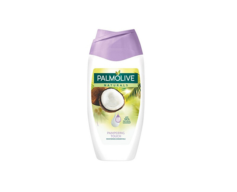 Palmolive Sametově jemný sprchový gel s vůní kokosu Naturals (Pampering Touch Moisturizing Shower Milk) 250 ml