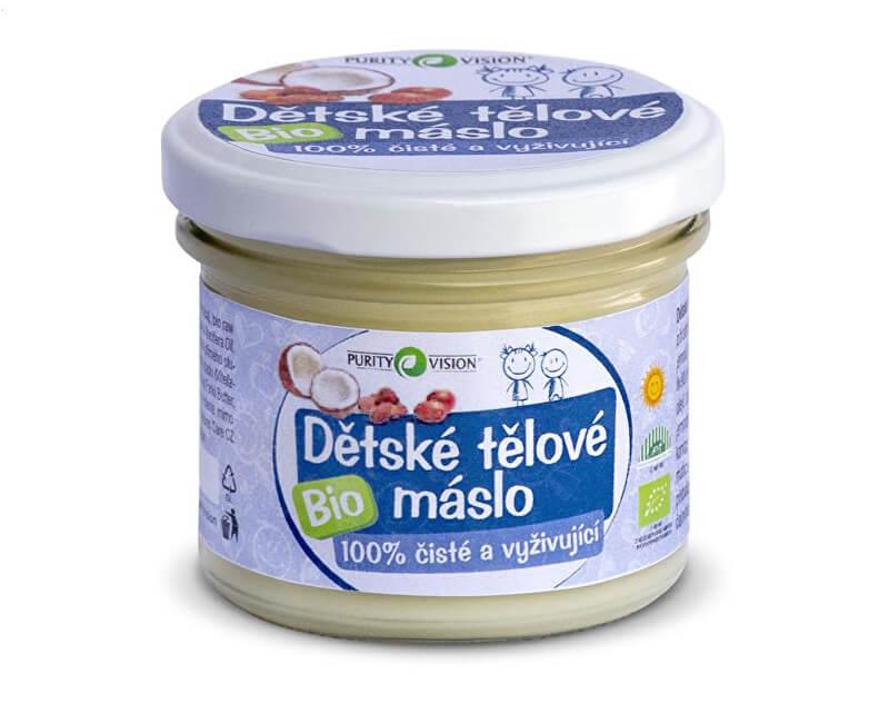 Purity Vision BIO Dětské tělové máslo PURITY VISION
