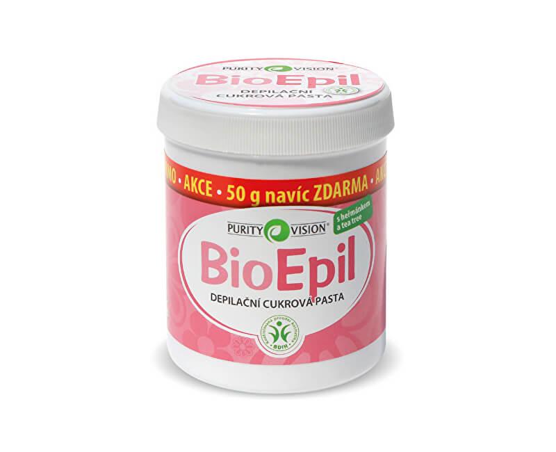 Purity Vision BioEpil depilační cukrová pasta 350 g + 50 g Zdarma