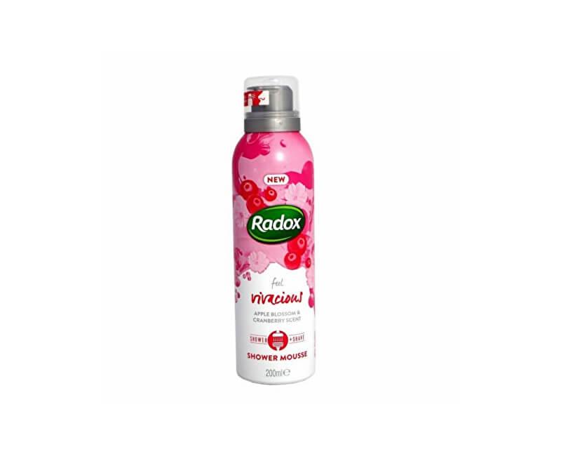 Radox Sprchová pěna Feel Vivacious (Shower Mousse) 200 ml