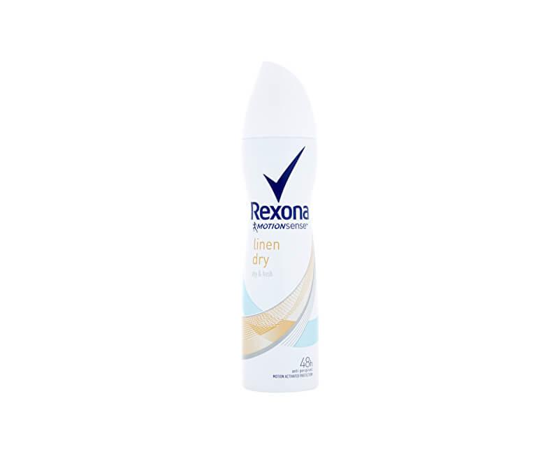 Rexona Antiperspirant ve spreji Motionsense Linen Dry 150 ml