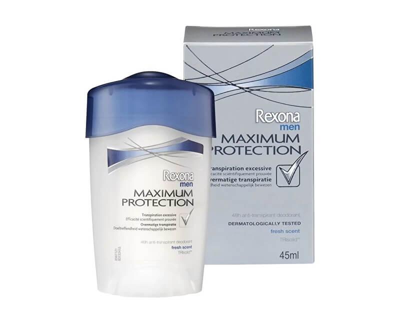 Rexona Tuhý deodorant Men Maximum Protection Clean Scent 45 ml
