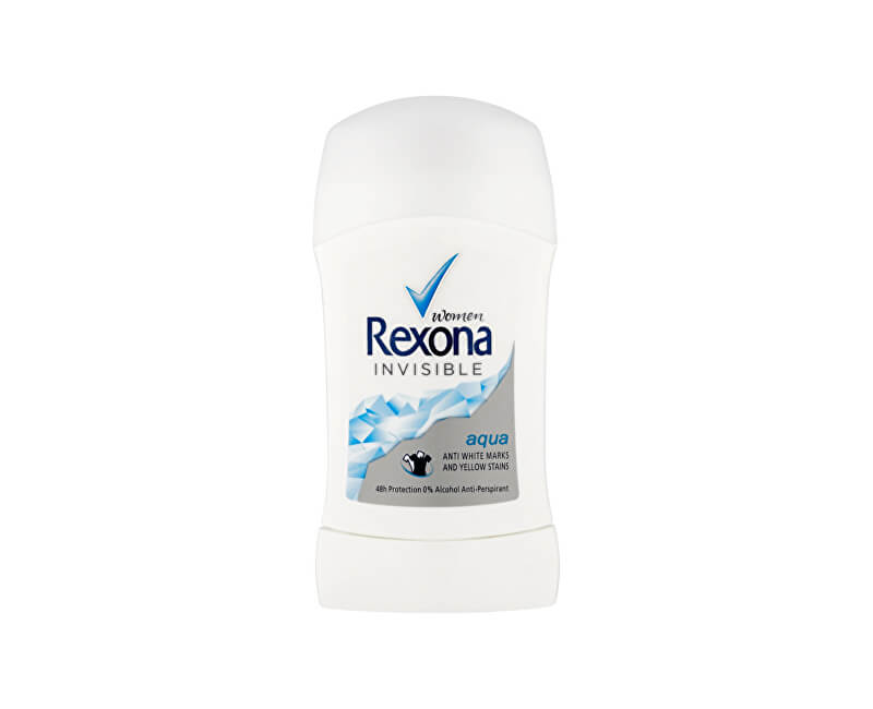 Rexona Tuhý deodorant Women Invisible Aqua 40 ml