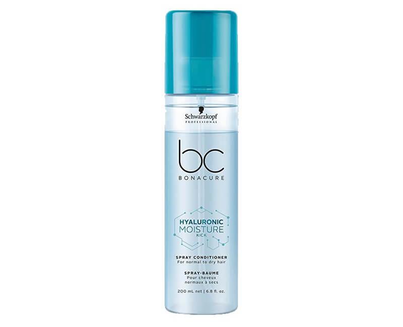 Schwarzkopf Professional Bezoplachový kondicionér ve spreji pro normální a suché vlasy BC Bonacure Moisture Kick (Spray Conditioner) 200 ml
