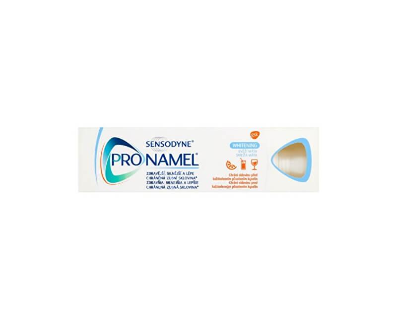 Sensodyne Bělicí zubní pasta proti pigmentaci Pronamel Whitening 75 ml - SLEVA - bez krabičky