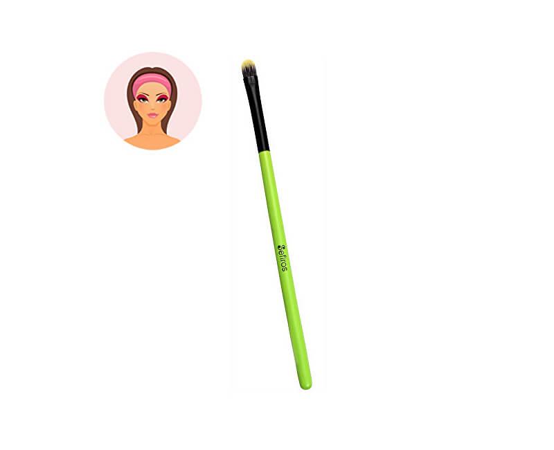 Sefiros Kulatý štětec na oční stíny malý s rukojetí Pastell (Eyeshadow Brush Small Pastell)
