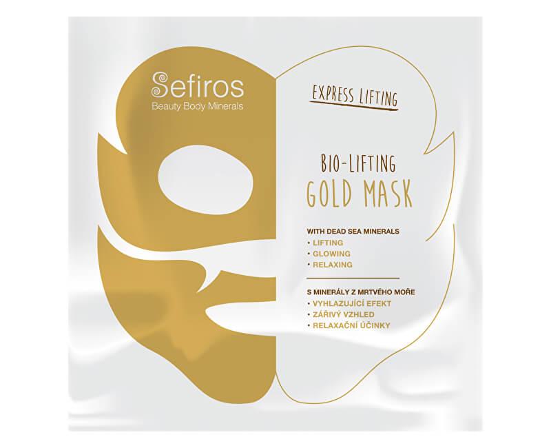 Sefiros Pleťová maska s minerálmi z Mŕtveho mora Gold Mask 20 ml