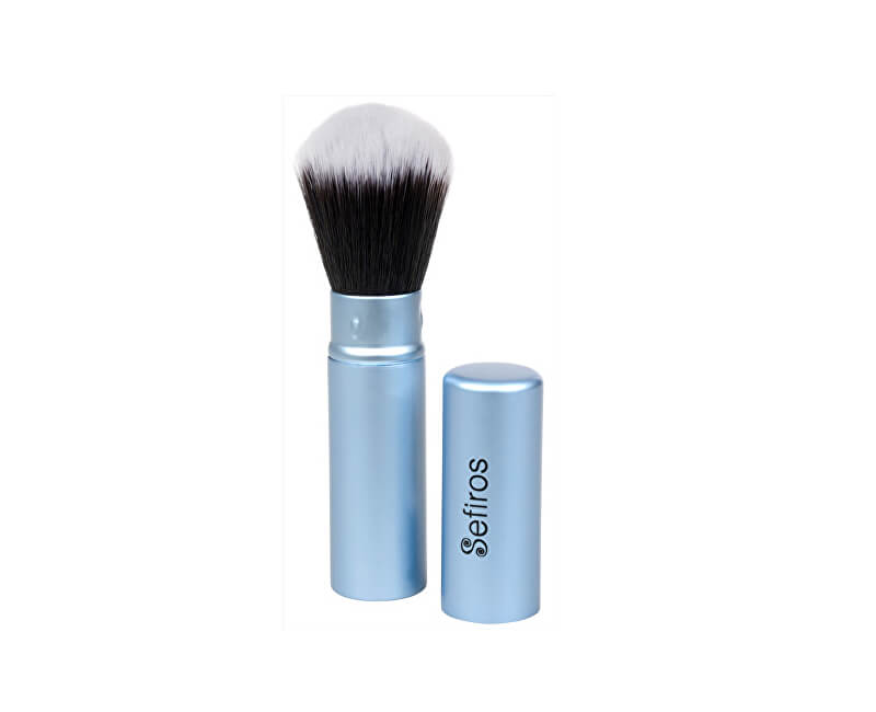 Sefiros Zatvárací púdrovací štetec Pastell (Retractable Brush Pastell) 1 ks