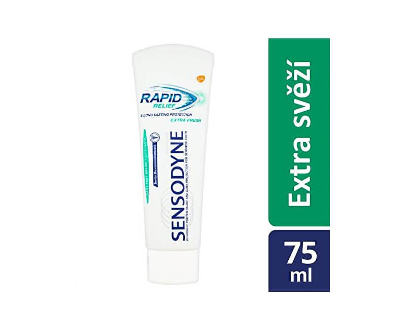 Sensodyne Zubní pasta na citlivé zuby Rapid Extra Fresh 75 ml